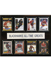 Chicago Blackhawks 12x15 All-Time Greats Player Plaque