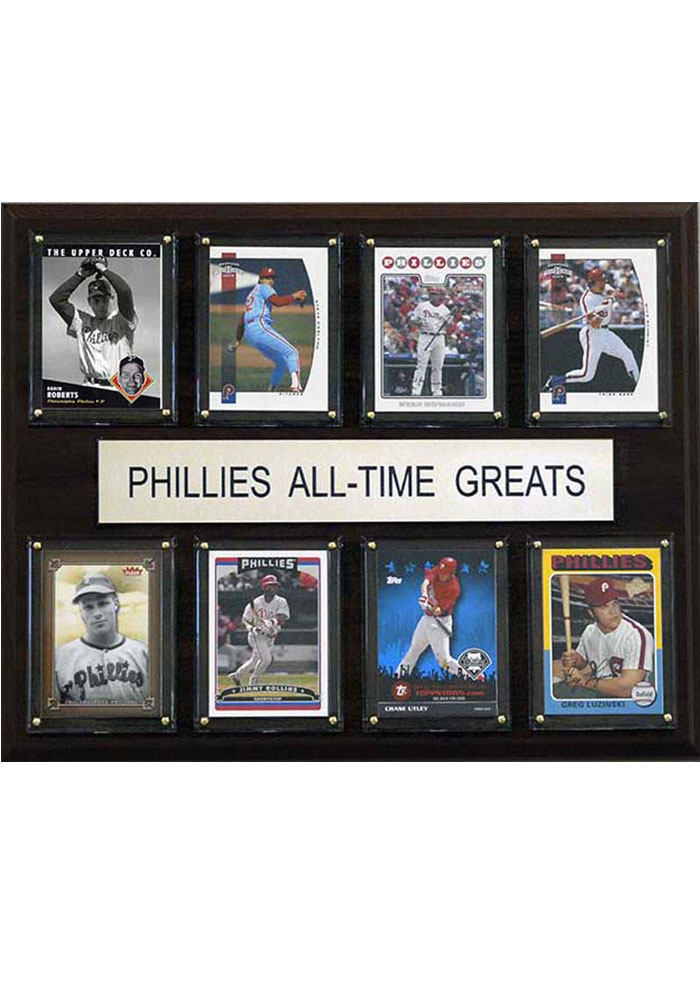 Philadelphia Phillies 12x15 All-Time Greats Player Plaque - Image 1