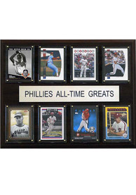 Philadelphia Phillies 12x15 All-Time Greats Player Plaque