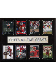 Kansas City Chiefs 12x15 All-Time Greats Player Plaque