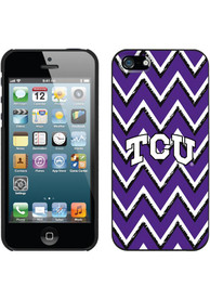 TCU Horned Frogs Chevron Phone Cover