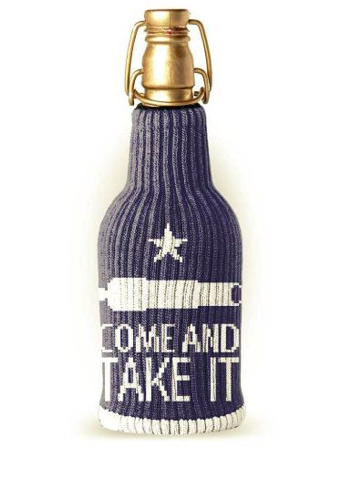 Texas Come and Take It Koozie - Image 1
