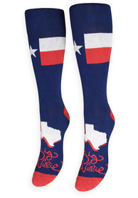 Texas Mens Red Big Willie Crew Socks