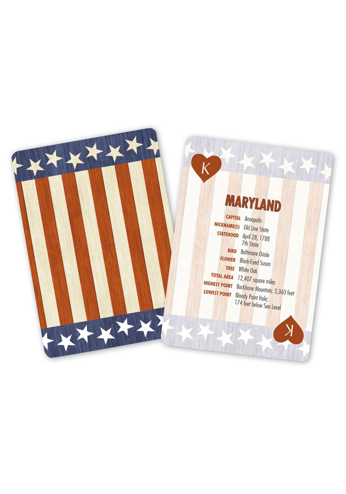 Fifty Nifty USA Playing Cards - Image 1