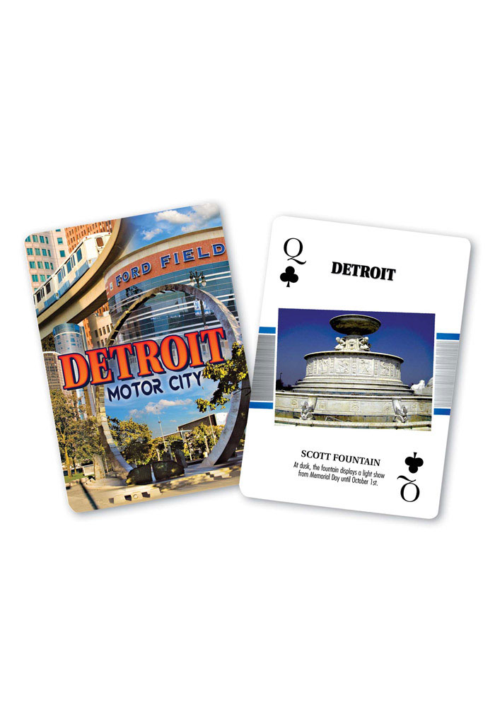 Detroit Playing Cards - Image 1