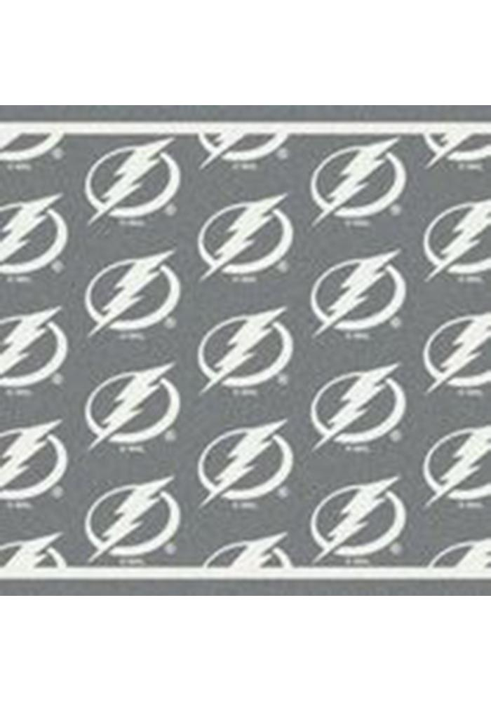 Tampa Bay Lightning 3x5 Repeat Interior Rug - Image 1