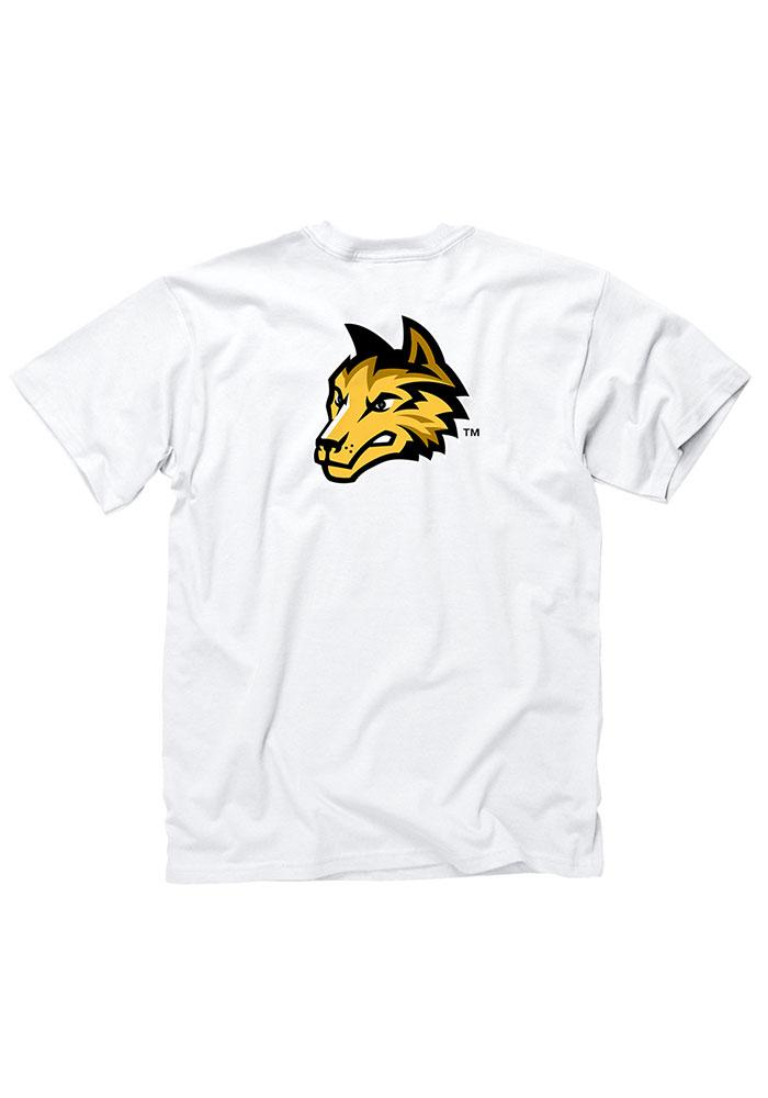 Wright State Raiders Mens White Rally Loud Short Sleeve T Shirt - Image 2