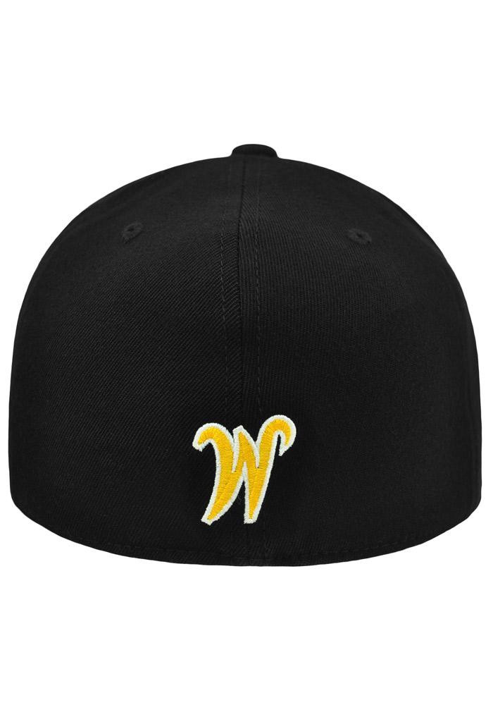 Top of the World Wichita State Shockers Mens Black Slam 1Fit Flex Hat - Image 3
