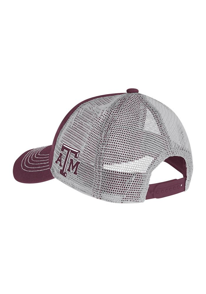 Adidas Texas A&M Aggies Meshback Slouch Adjustable Hat - Maroon - Image 3
