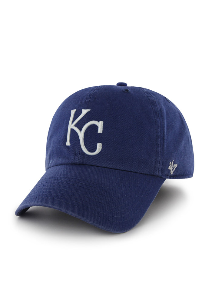 d41ed8f8a46 47 Kansas City Royals Blue Clean Up Youth Adjustable Hat