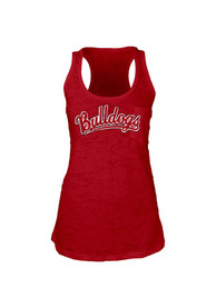 Ferris State Bulldogs Womens Red Pocket Tank Top