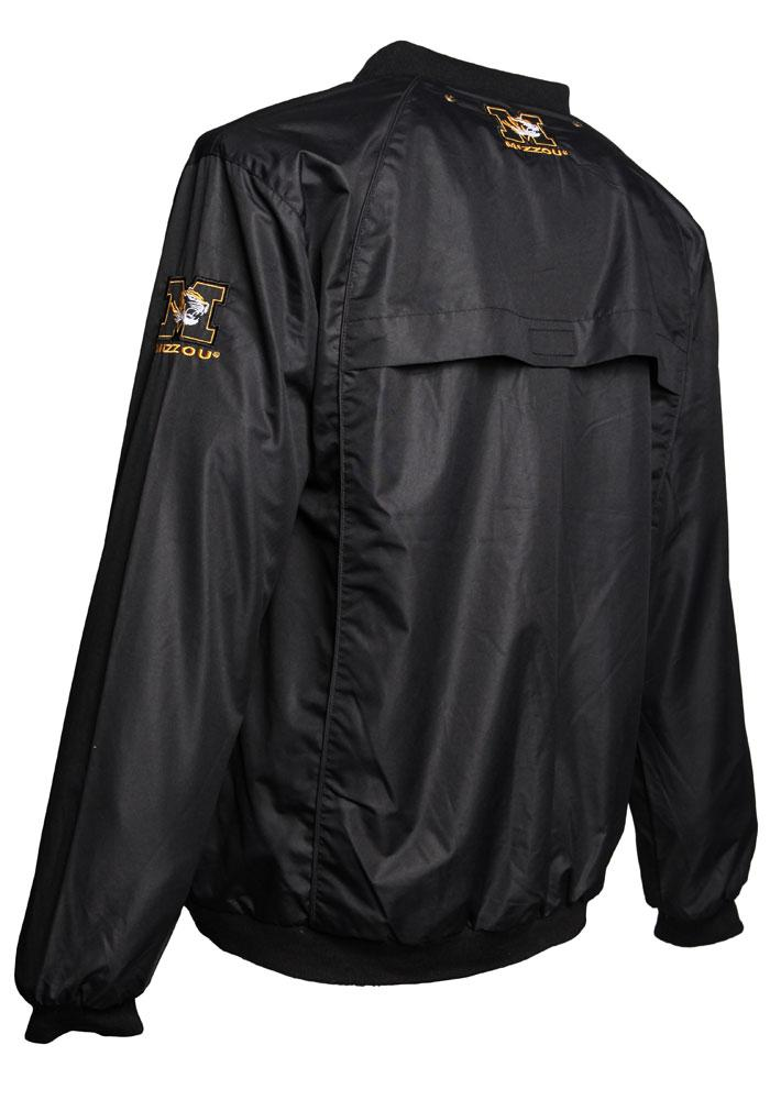 Missouri Tigers Mens Black Coach Windshell Pullover Jackets - Image 2