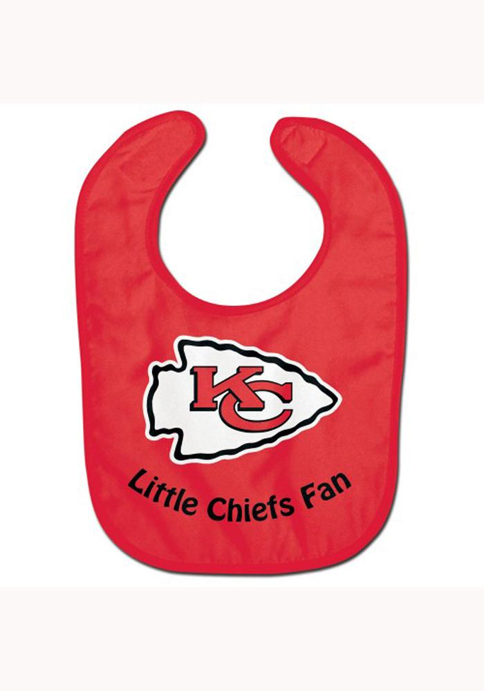Kansas City Chiefs Baby All Pro Bib - Red