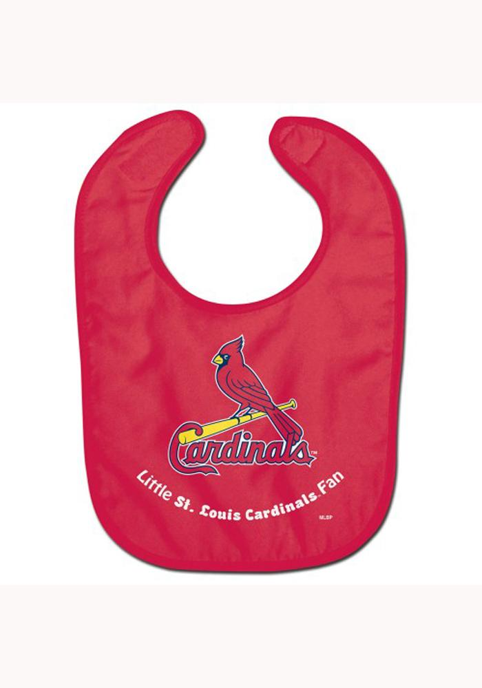 St Louis Cardinals All Pro Baby Bib - Image 1