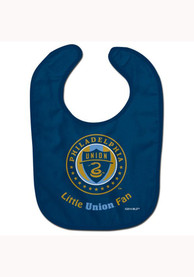 Philadelphia Union Baby All Pro Bib - Blue