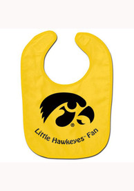 Iowa Hawkeyes Baby All Pro Bib - Yellow