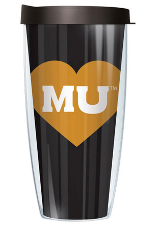 Missouri Tigers Heart Tumbler