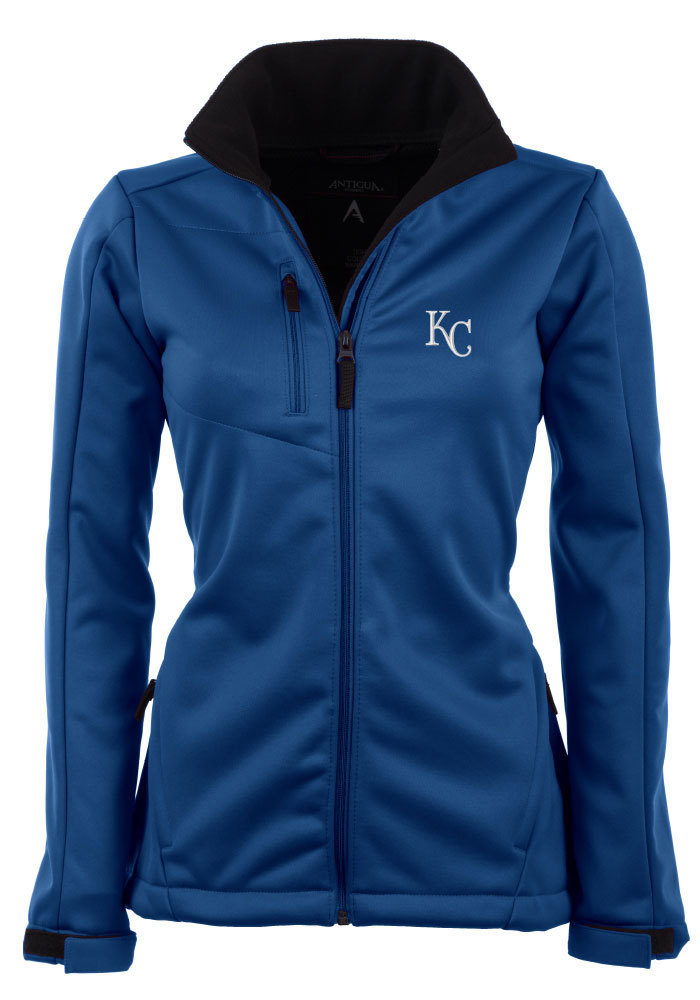 Antigua Kansas City Royals Womens Blue Traverse Heavy Weight Jacket - Image 1