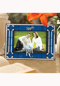 Kansas City Royals Art-Glass Horizontal Picture Frame