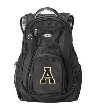 Appalachian State Mountaineers Black 19 Inch Backpack