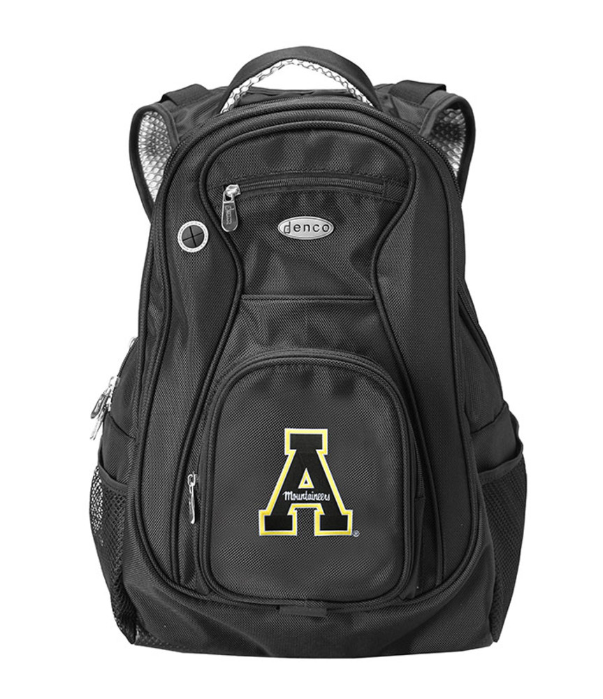 Appalachian State Mountaineers Black 19 Inch Backpack - Image 1