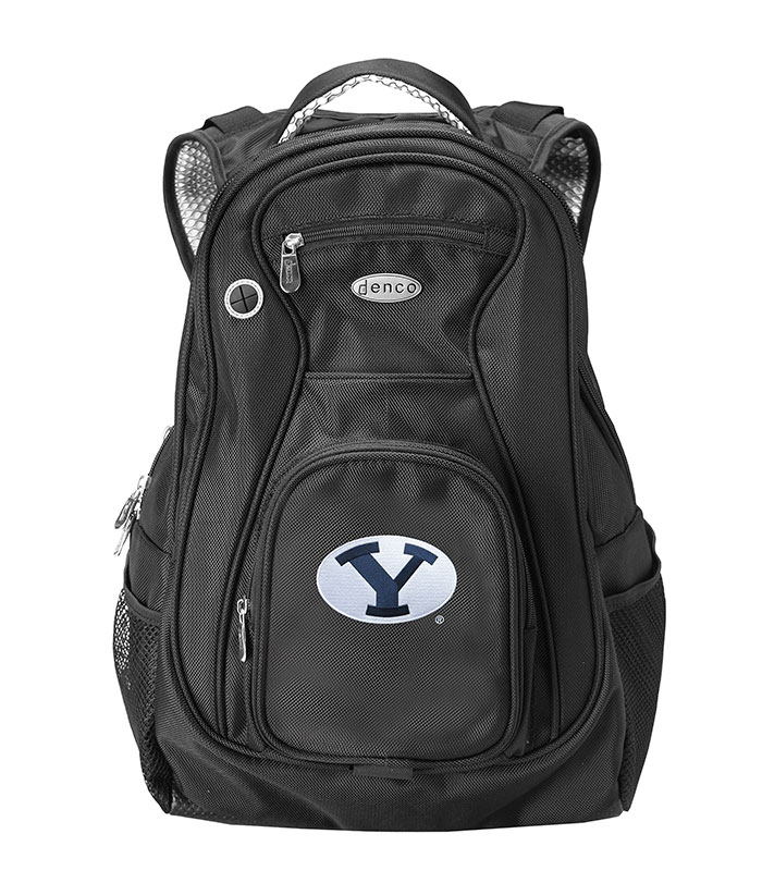 BYU Cougars Black 19 Inch Backpack - Image 1