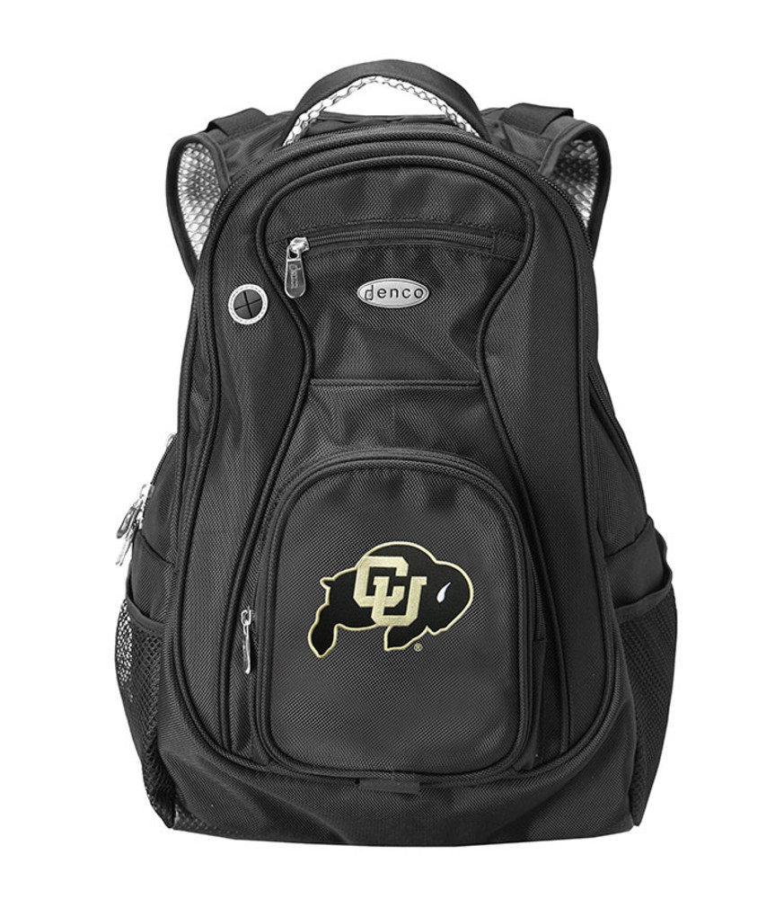 Colorado Buffaloes Black 19 Inch Backpack - Image 1