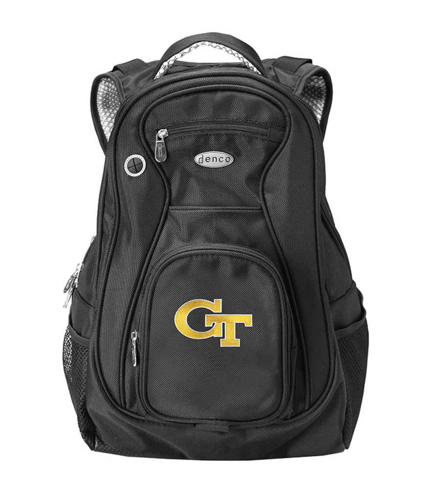 GA Tech Yellow Jackets Black 19 Inch Backpack - Image 1