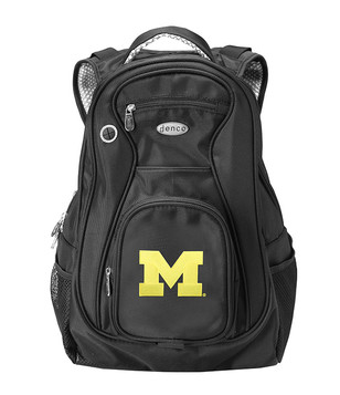 Michigan Wolverines Black 19 Inch Backpack