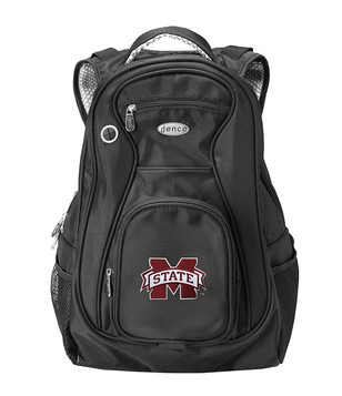 Mississippi State Bulldogs Black 19 Inch Backpack