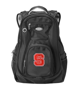 NC State Wolfpack Black 19 Inch Backpack