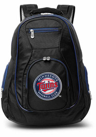 Minnesota Twins 19 Laptop Blue Trim Backpack - Black