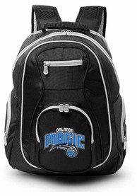 Orlando Magic 19 Laptop Grey Trim Backpack - Black