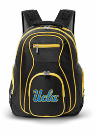UCLA Bruins 19 Laptop Grey Trim Backpack - Black
