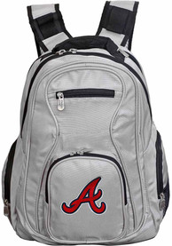 Atlanta Braves 19 Laptop Backpack - Grey