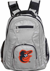 Baltimore Orioles 19 Laptop Backpack - Grey