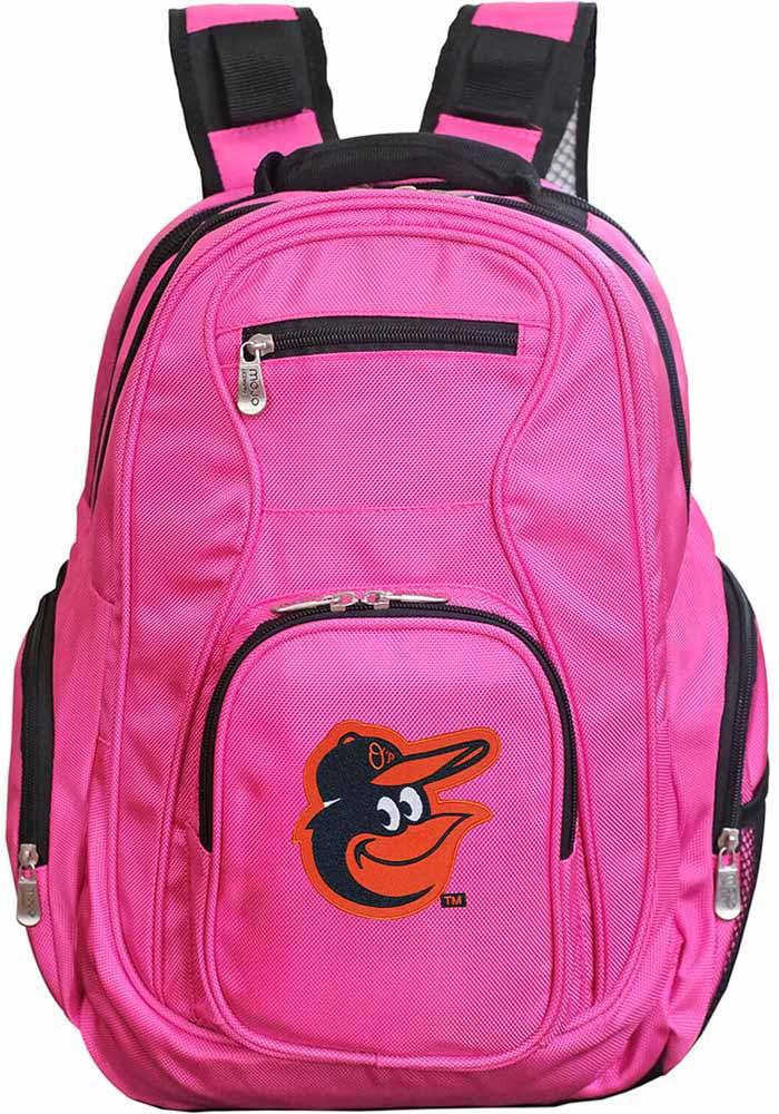 Baltimore Orioles Pink 19 Laptop Backpack - Image 1