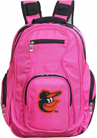 Baltimore Orioles 19 Laptop Backpack - Pink