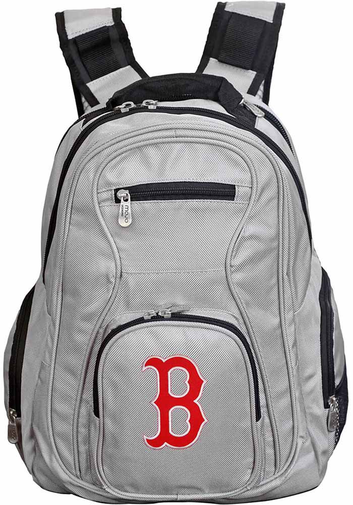 Boston Red Sox Grey 19g Laptop Backpack - Image 1