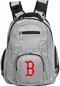 Boston Red Sox 19 Laptop Backpack - Grey