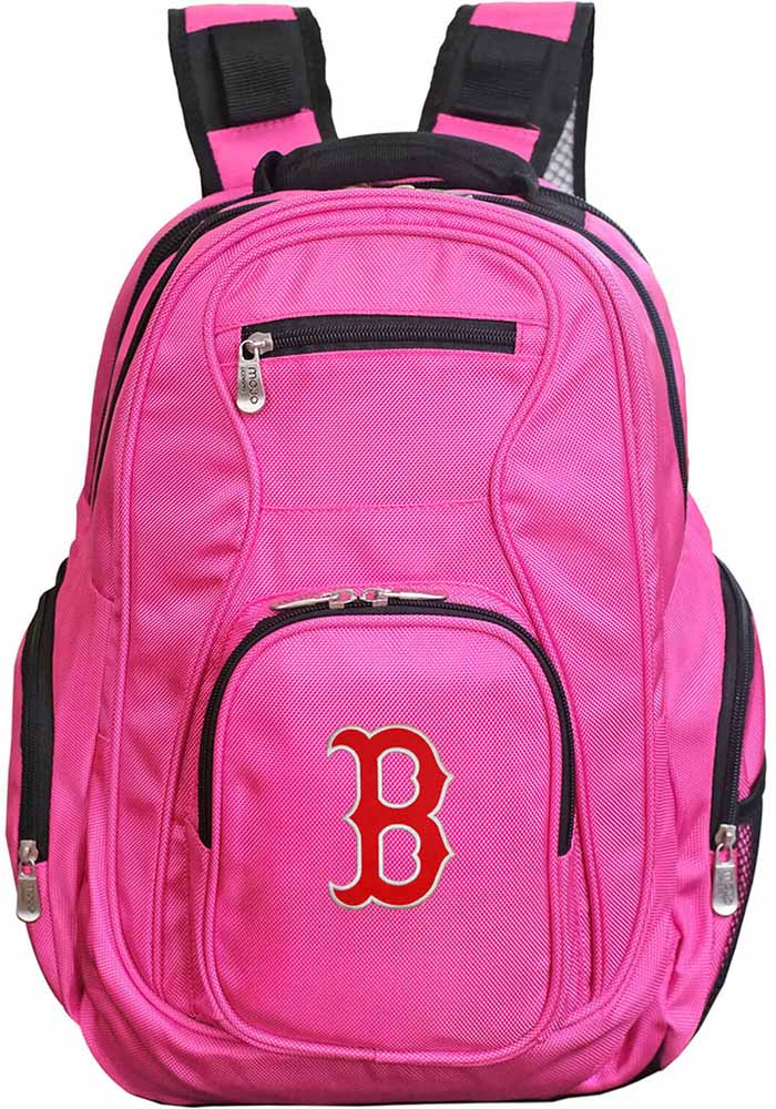 Boston Red Sox Pink 19 Laptop Backpack - Image 1