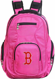 Boston Red Sox 19 Laptop Backpack - Pink