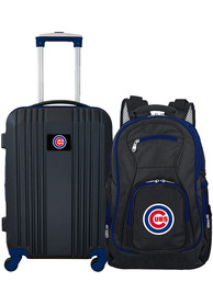 Chicago Cubs 2-Piece Set Luggage - Black