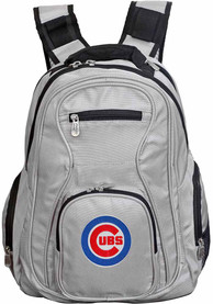 Chicago Cubs 19 Laptop Backpack - Grey