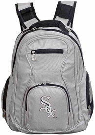 Chicago White Sox 19 Laptop Backpack - Grey