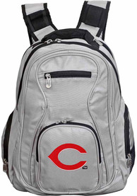 Cincinnati Reds 19 Laptop Backpack - Grey