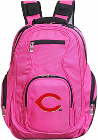 Cincinnati Reds 19 Laptop Backpack - Pink