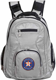 Houston Astros 19 Laptop Backpack - Grey