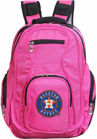 Houston Astros 19 Laptop Backpack - Pink