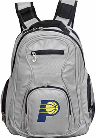 Indiana Pacers 19 Laptop Backpack - Grey